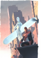 SOLD - Esad Ribic - Silver Surfer Requiem #2 Cover Comic Art